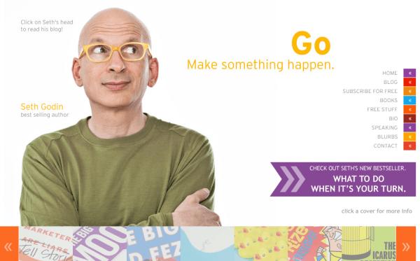 Seth Godin autor de Permission Marketing