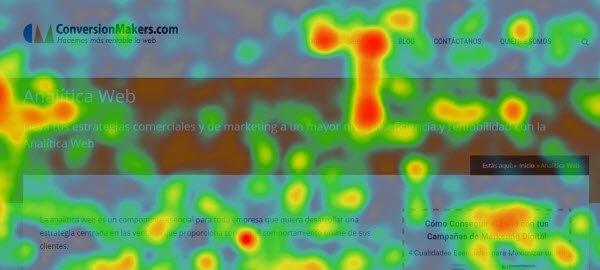 Mapa Calor - Investigación Usabilidad