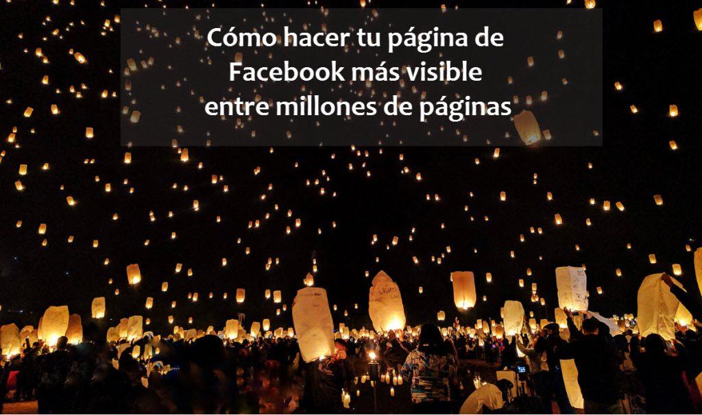 Visibilidad en Facebook